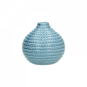 Verleih Vase Blau Bottleform