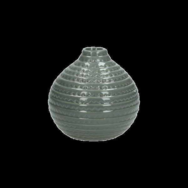 Verleih Vase Keramik grau