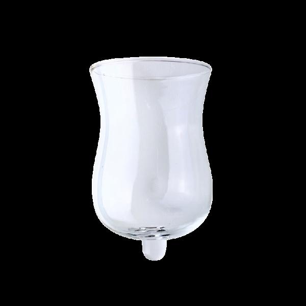 Verleih Kerzenleuchter Aufsatz Glas Windlicht
