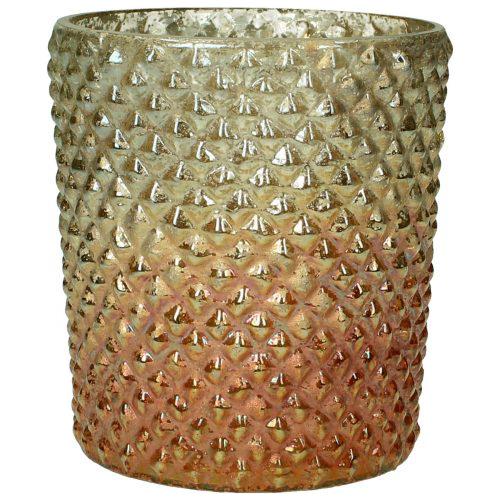 Vase Glas Antik Rost
