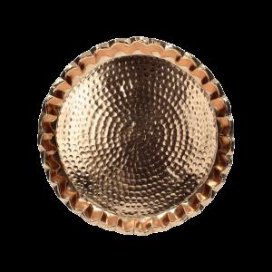 Verleih Dekoschale Kupfer Teller