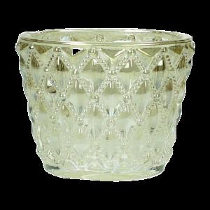 Verleih Teelichthalter Gold Hochzeitsdeko