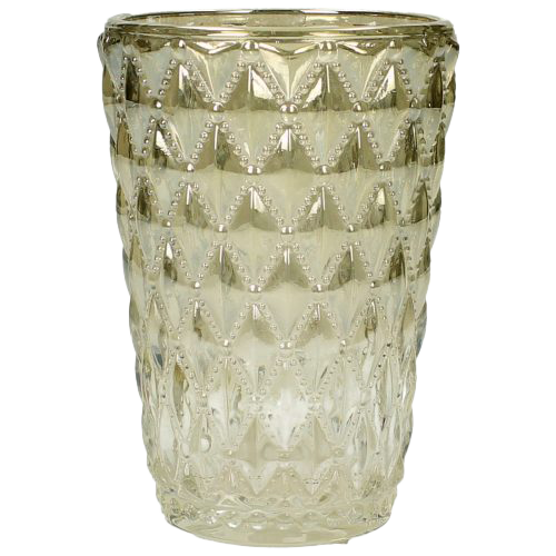 Vase Glas Champagner Dekoverleih