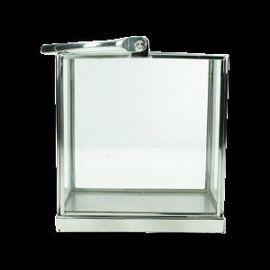 Dekoverleih Laterne Windlicht Silber