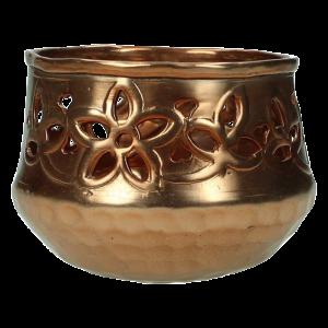 Verleih Teelichthalter Kupfer