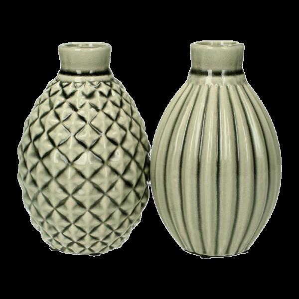 Verleih Vase Vintage Grün