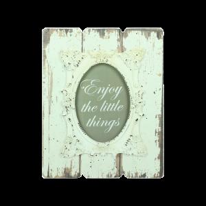 Verleih Bilderrahmen Vintage Holz Weiß Tischnummer Hochzeitsdeko
