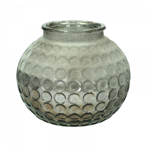 Dekoverleih Vase Amber Taupe