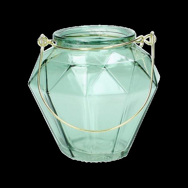 Dekoverleih Laterne Teelicht Türkis grün