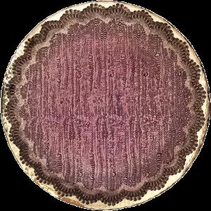 Dekoverleih Platzteller Spitze Purple