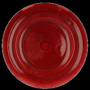 Dekoverleih Platzteller rot