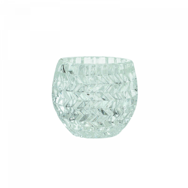 Dekoverleih Teelichthalter Kristall