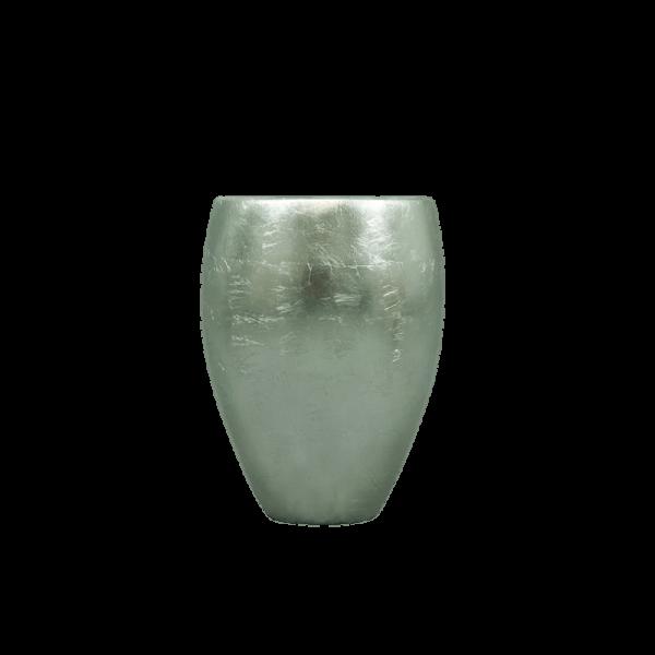 Verleih Vase Blattsilber small