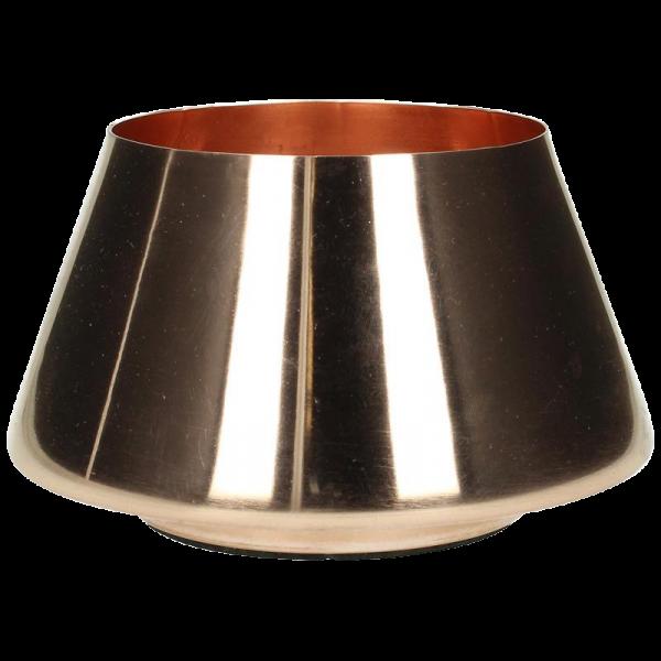 Vase Kupfer Poliert