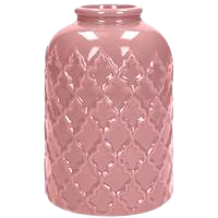 Dekoverleih Vase Vintage Rosa