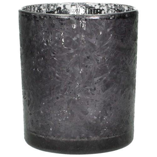 Dekoverleih Teelicht schwarz