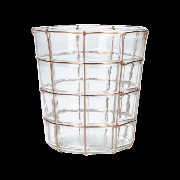 Dekoverleih Teelicht Kupfer
