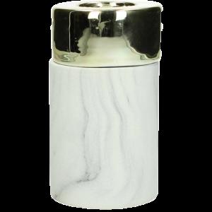 Dekoverleih Teelichthalter Marble Marmor Gold
