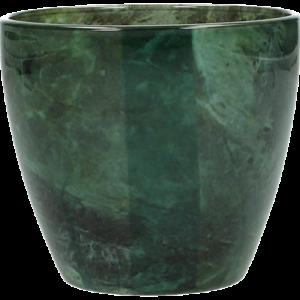 Dekoverleih Teelicht grün marmor