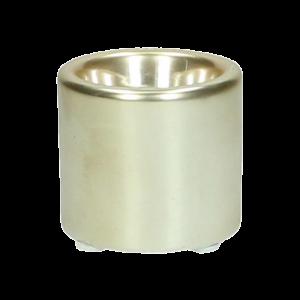 Dekoverleih Kerzenhalter Teelichthalter Gold klein