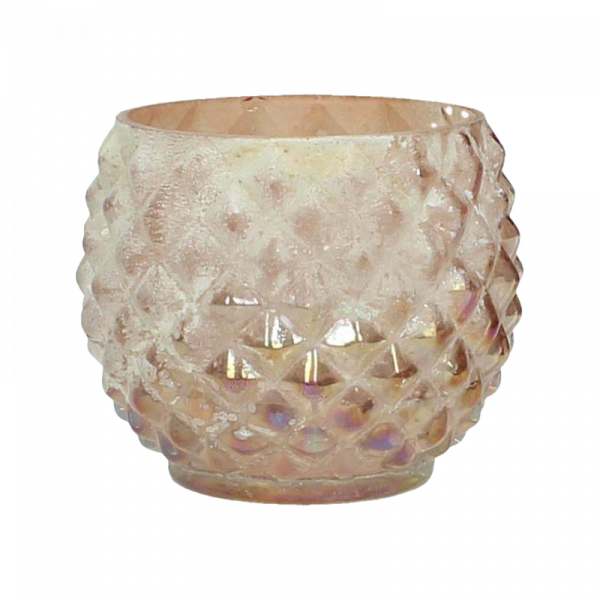 Verleih Vase Peach Kugel Hochzeitsdeko