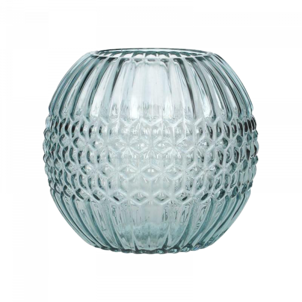 Vase Kugel Blau