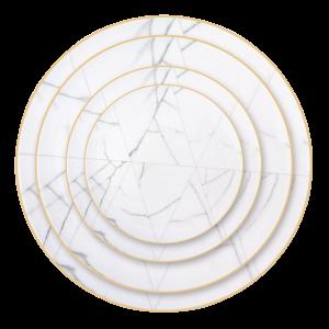 Verleih Platzteller Italian Marble